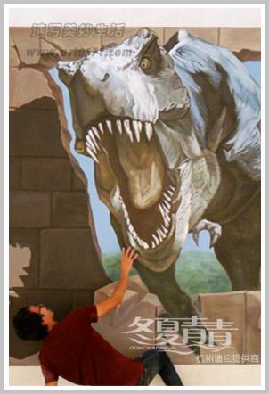 杭州手绘3D立体画