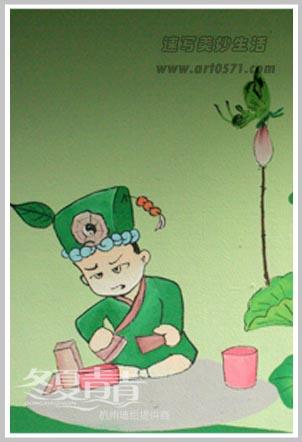 杭州墙绘 围墙彩绘