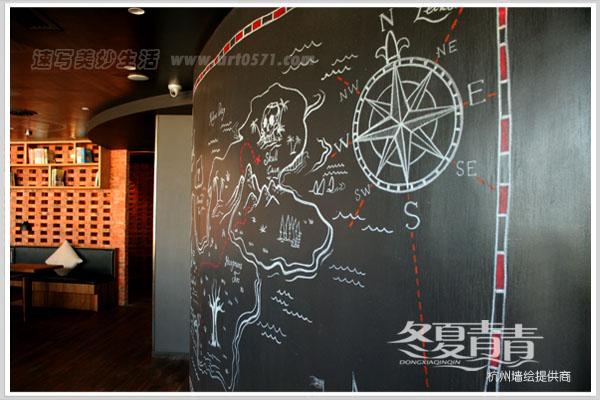 杭州清迹文化创意有限公司 杭州粉笔彩绘