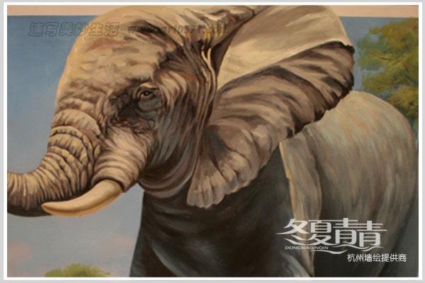 大象3d立体画展 杭州3d立体画