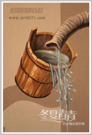 3d大象油画 杭州3D立体画展