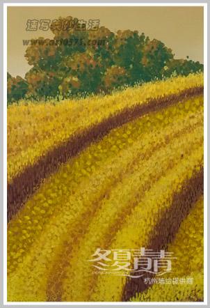 温岭美丽乡村墙绘 冬夏青青