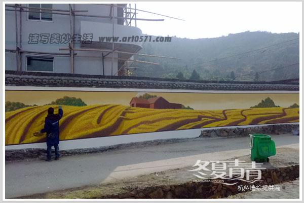 温岭美丽乡村墙绘