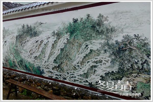 温岭农村墙绘