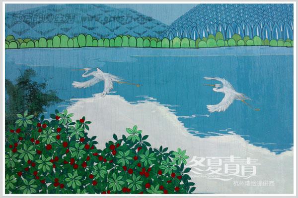 杨梅树 白鹭