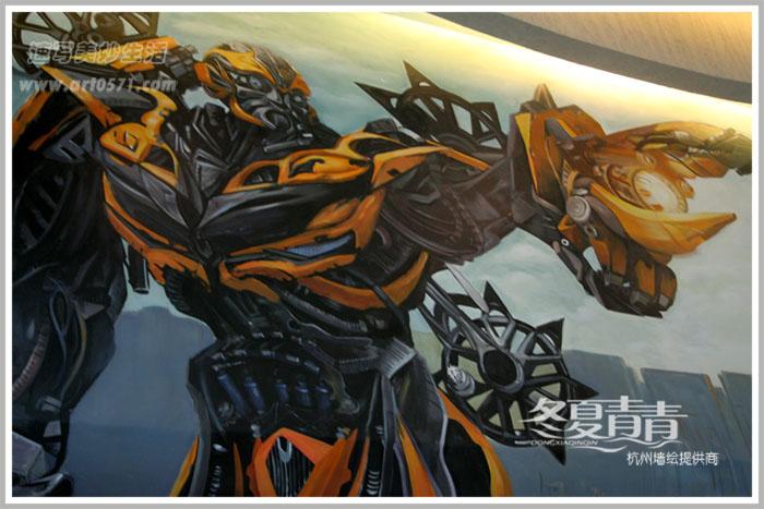 杭州德纳影城墙绘